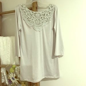 Tops - Soft, Lacey blouse